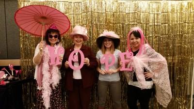 Me, Mom, Rachelle, Tiff (My daughters-in-law)