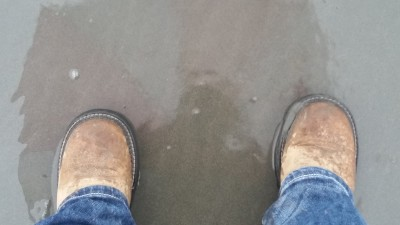 West Coast Rain and Cowgirl Boots