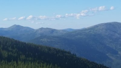 A perfect view of Indian Country in Northeast Washington.