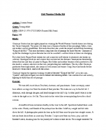 Girl Warrior Media Kit (PDF)