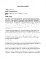 Heart Trilogy Media Kit (PDF)